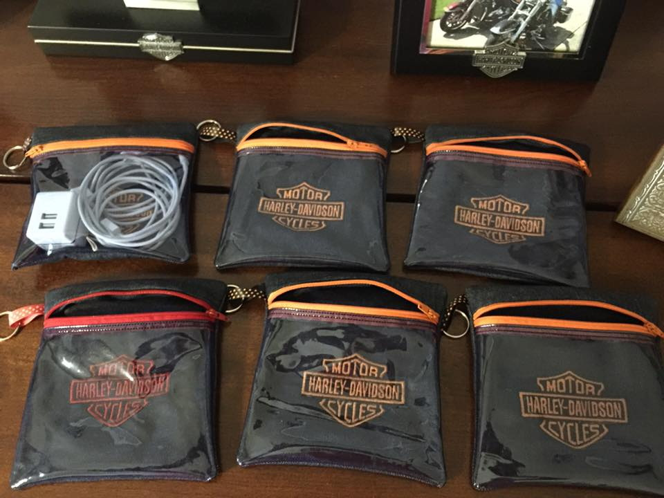 Harley Davidson Logo design on bag2