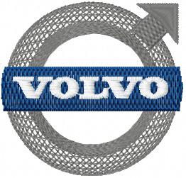 bc3cb0e4983a95 Volvo Logo machine embroidery design ...