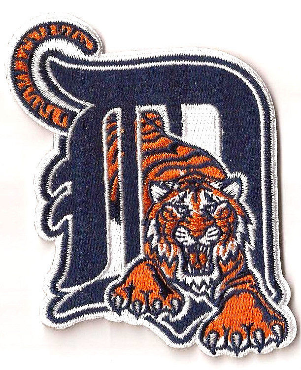 Detroit Tigers embroidery Logo
