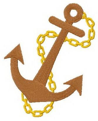 Anchor 2 machine embroidery design