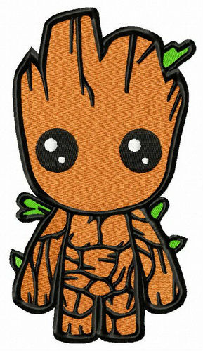 586d39a78 Little Groot machine embroidery design