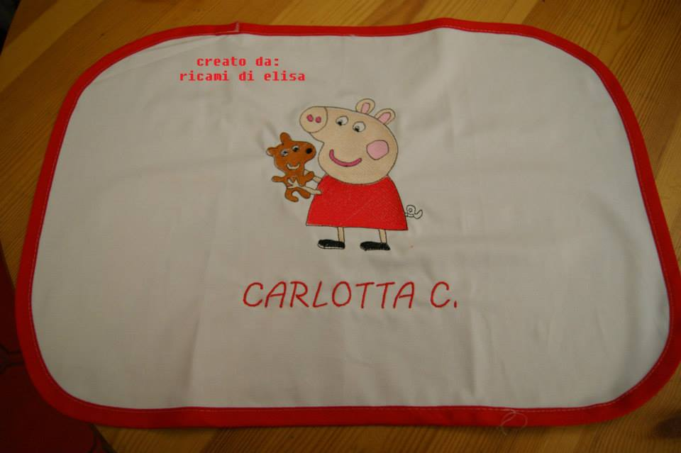 Peppa Pig with Toy design on potholder2