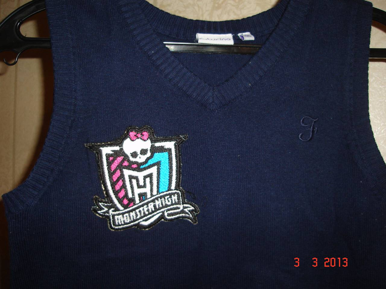 Monster High patch embroidered