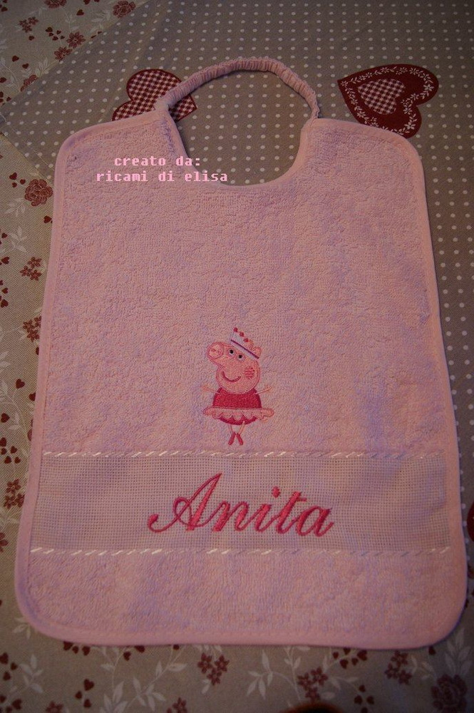 Peppa pig ballerina design on towel6