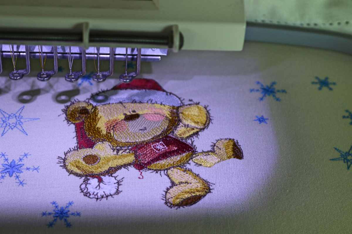 Happy embroidery machine frame