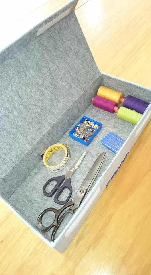 Sewing box for needlework