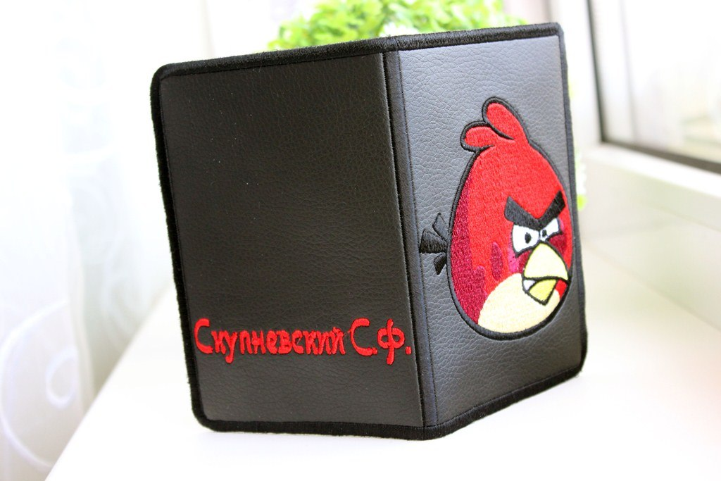 Angry birds Red embroidered on cover