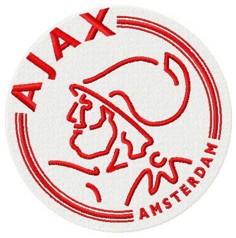 Afc Ajax Logo Machine Embroidery Design