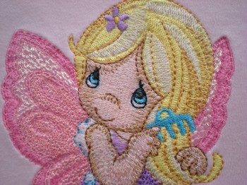 Little Fairy design embroidered