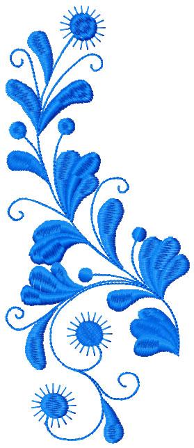 Branch Decoration Free Machine Embroidery Design