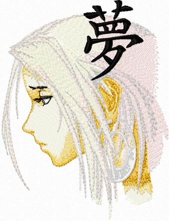Embroidery Anime Boy-Digital Download Embriodery Anime
