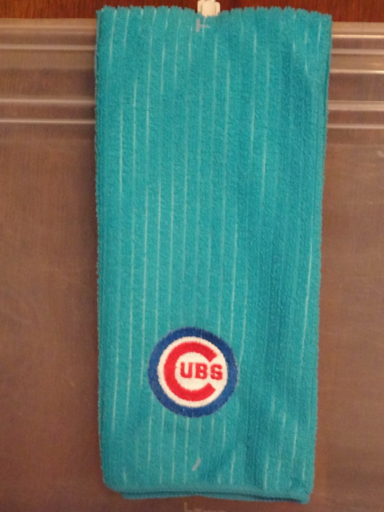 Chicago Cubs Logo classic embroidery design on towel