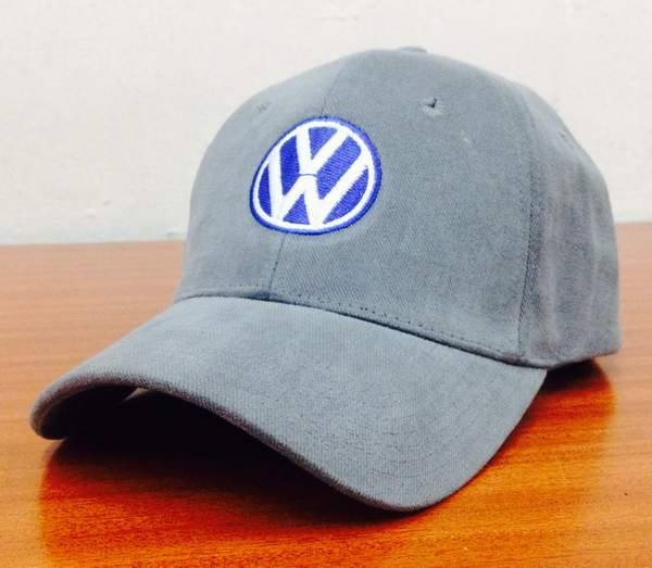 Volkswagen logo embroidery design on cap
