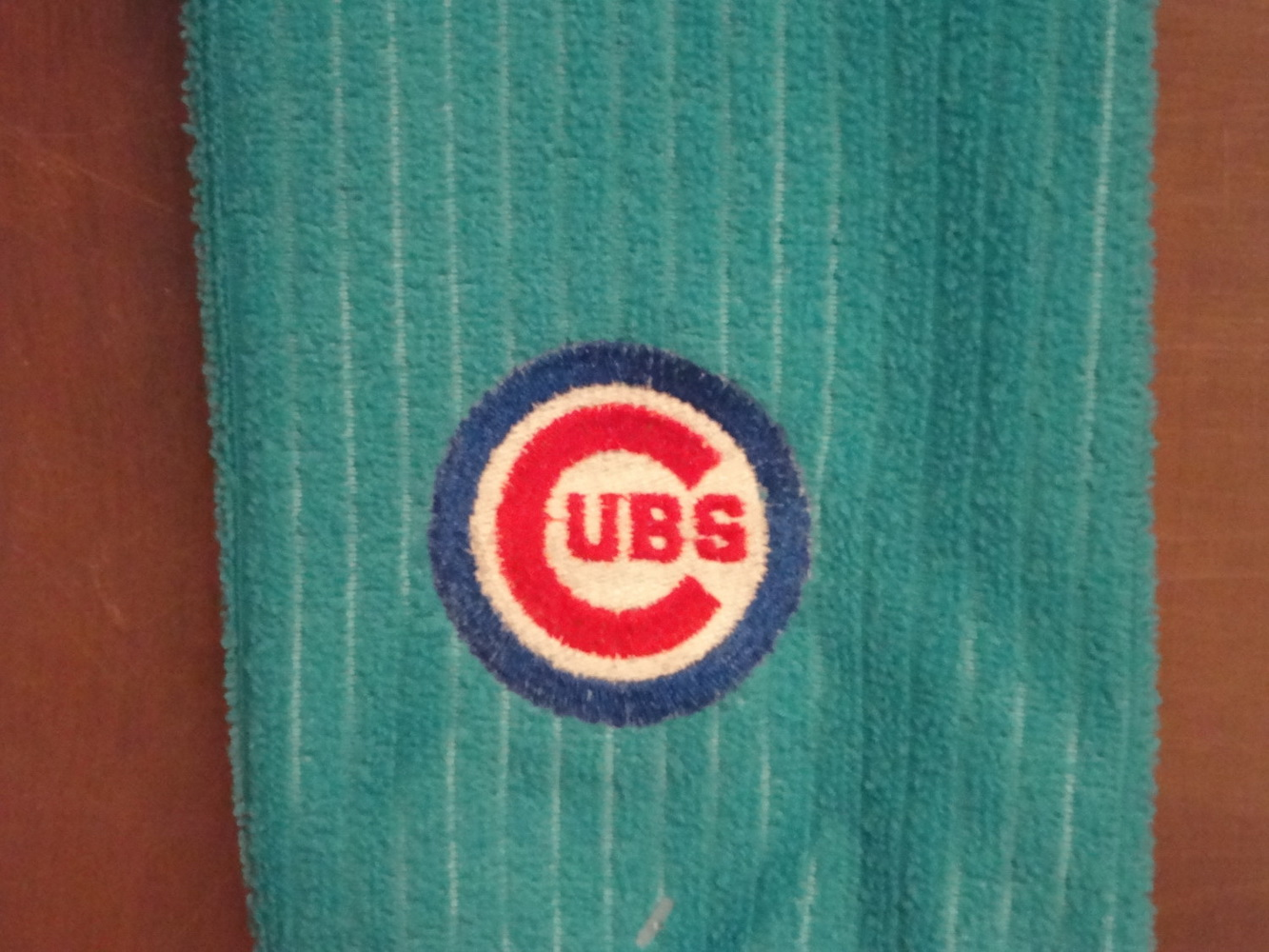 Chicago Cubs Logo classic logo on embroidered bath towel