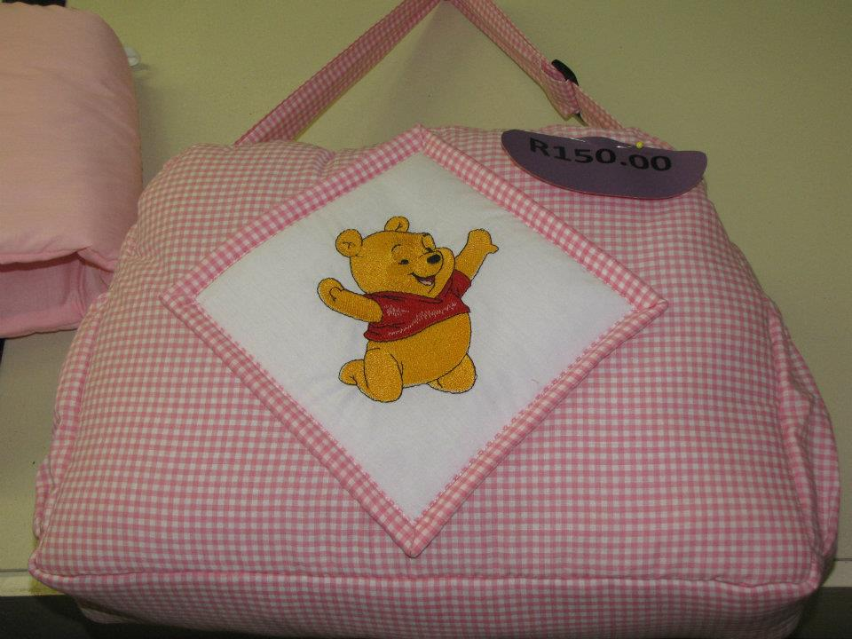 Baby Pooh happy design embroidered