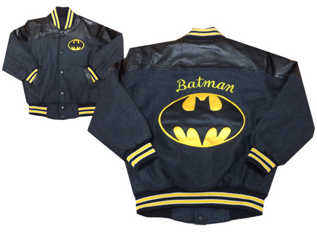 Batman logo design on jacket1