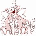 Teddy bear fairy 9 embroidery design