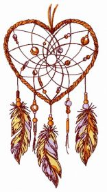 Dreamcatcher 34 machine embroidery design