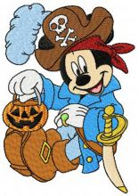 Mickey Mouse pirate costume