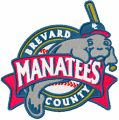 Brevard County Manatees Logo embroidery design