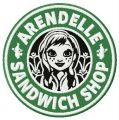Arendelle sandwich shop embroidery design