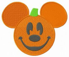 Mickey Mouse funny pumpkin