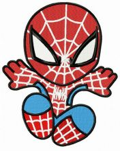 Chibi Spiderman attacks