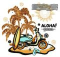 Aloha 2 embroidery design