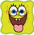 SpongeBob Smile 2 embroidery design