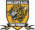 Hull City AFC The Tigers logo embroidery design