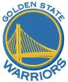Golden State Warriors logo embroidery design