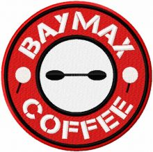 Baymax coffee