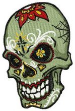 Tattooed scull