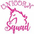 Unicorn squad free embroidery design