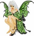 Modern Fairy 2 embroidery design