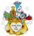 Presents from the North Pole 2 embroidery design