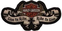 Harley Davidson logo Live to Ride