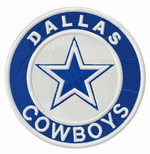 Dallas Cowboys round logo