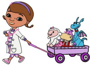 Doc McStuffins and friends