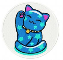 Maneki Neko star kitty
