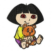Dora the Explorer with Bear