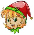 Christmas elf 10 embroidery design