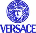 Versace Logo embroidery design