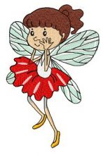 Frightened fairy