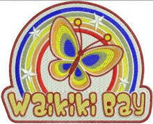 Waikiki bay badge
