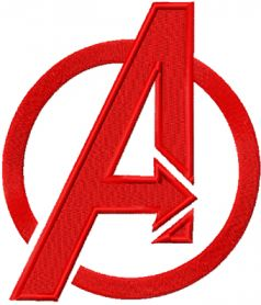 Avengers Logo machine embroidery design