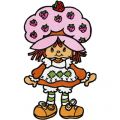 Strawberry Shortcake embroidery design