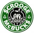 $crooge McBuck$ embroidery design