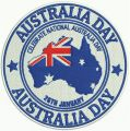 Australia Day 2 embroidery design
