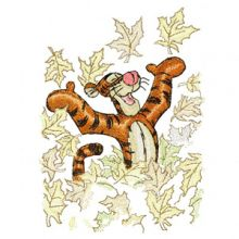 Tigger and autumn